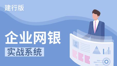 企业网银实战系统(建行版)